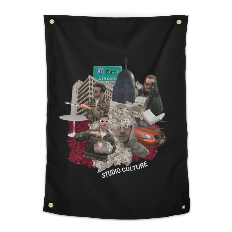 Studio Clutue Home Tapestry by Petty Apparel