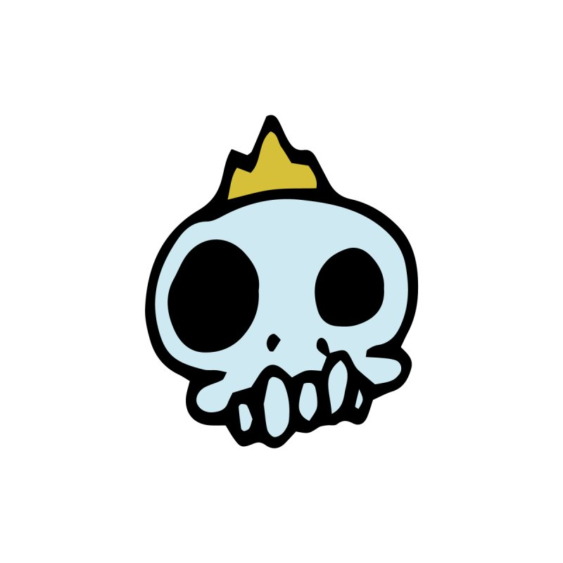 Skull King by Petty Apparel
