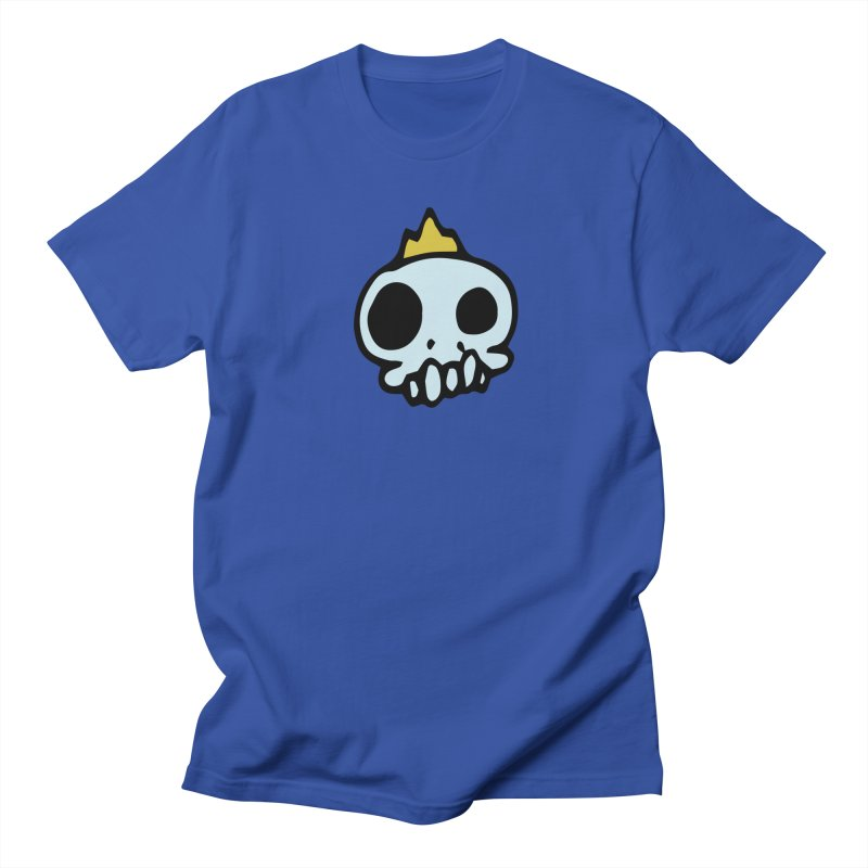 Skull King Men's T-shirt by Petty Apparel