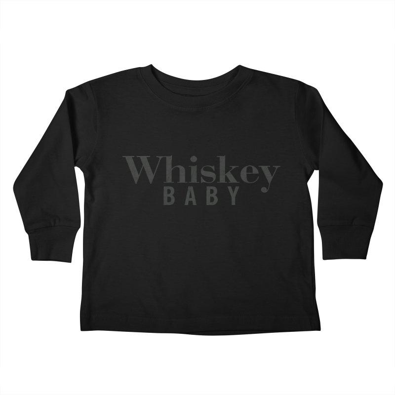 Whiskey Baby Kids Toddler Longsleeve T-Shirt by ishCreatives's Artist Shop