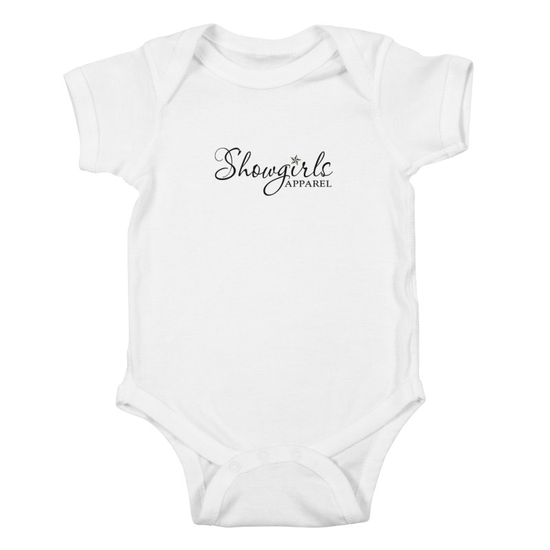Showgirls Apparel - Black Kids Baby Bodysuit by ishCreatives's Artist Shop