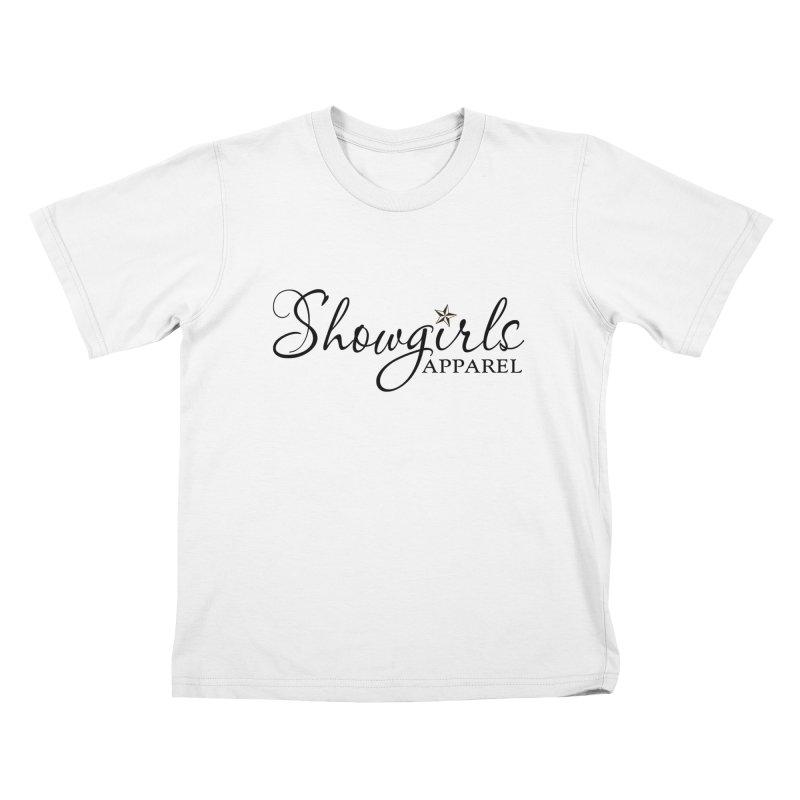 Showgirls Apparel - Black Kids T-Shirt by ishCreatives's Artist Shop