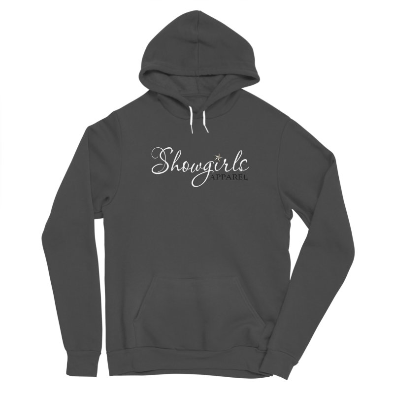 Showgirls Apparel - White Women's Sponge Fleece Pullover Hoody by ishCreatives's Artist Shop