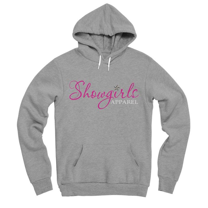 Showgirls Apparel - Pink Women's Sponge Fleece Pullover Hoody by ishCreatives's Artist Shop