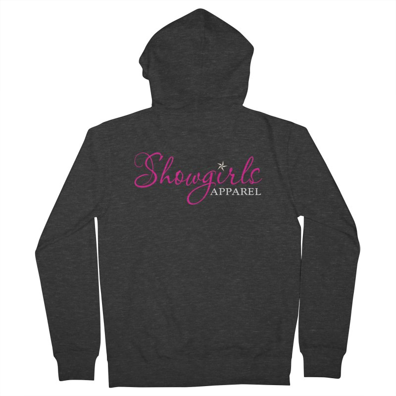 Showgirls Apparel - Pink Women's French Terry Zip-Up Hoody by ishCreatives's Artist Shop