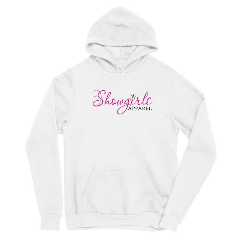 Showgirls Apprel - Pink & Black Women's Sponge Fleece Pullover Hoody by ishCreatives's Artist Shop