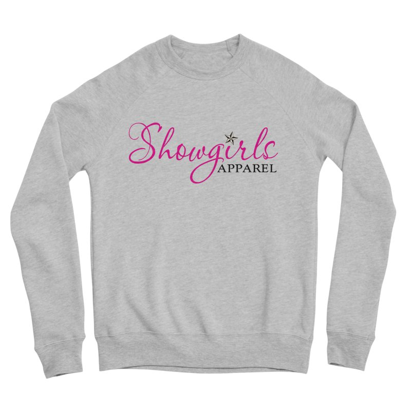 Showgirls Apprel - Pink & Black Women's Sponge Fleece Sweatshirt by ishCreatives's Artist Shop