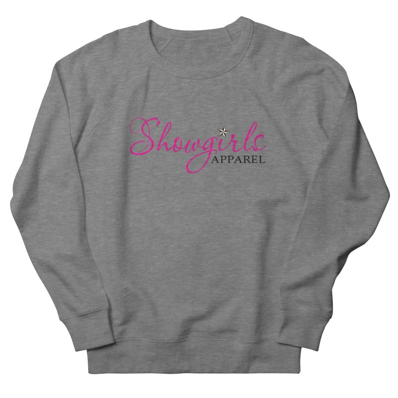 Showgirls Apprel - Pink & Black Women's French Terry Sweatshirt by ishCreatives's Artist Shop