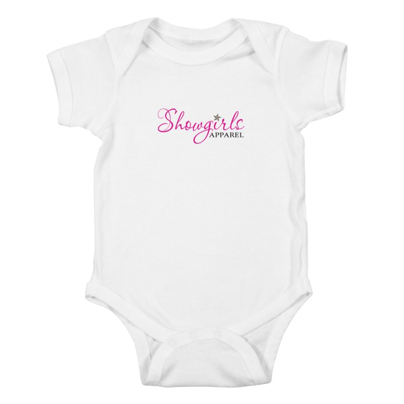 Showgirls Apprel - Pink & Black Kids Baby Bodysuit by ishCreatives's Artist Shop