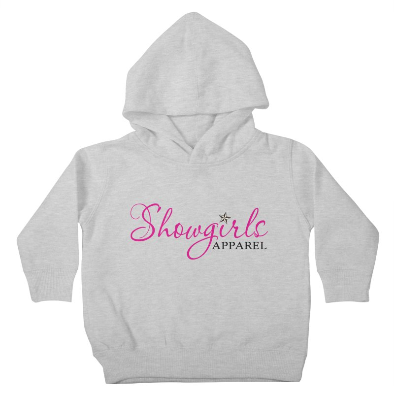 Showgirls Apprel - Pink & Black Kids Toddler Pullover Hoody by ishCreatives's Artist Shop