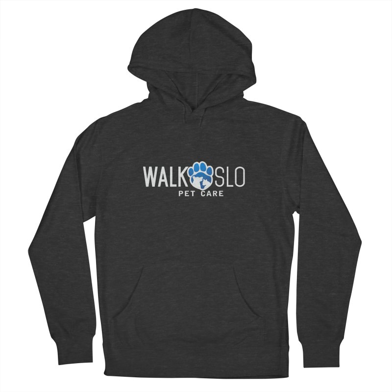 Walk SLO in Women's French Terry Pullover Hoody Smoke by ishCreatives's Artist Shop
