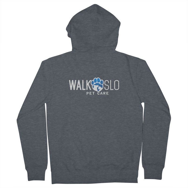Walk SLO Men's French Terry Zip-Up Hoody by ishCreatives's Artist Shop