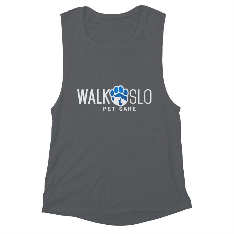 Walk SLO Women's Muscle Tank by ishCreatives's Artist Shop