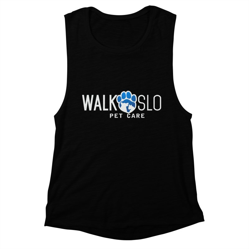 Walk SLO Women's Muscle Tank by ishCreatives's Artist Shop