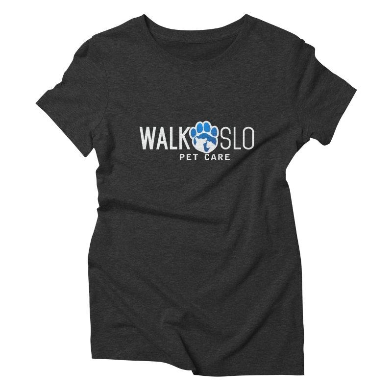 Walk SLO in Women's Triblend T-Shirt Heather Onyx by ishCreatives's Artist Shop