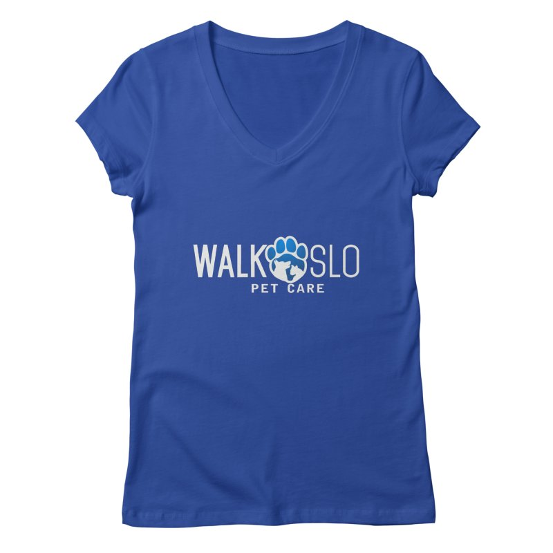 Walk SLO Women's Regular V-Neck by ishCreatives's Artist Shop