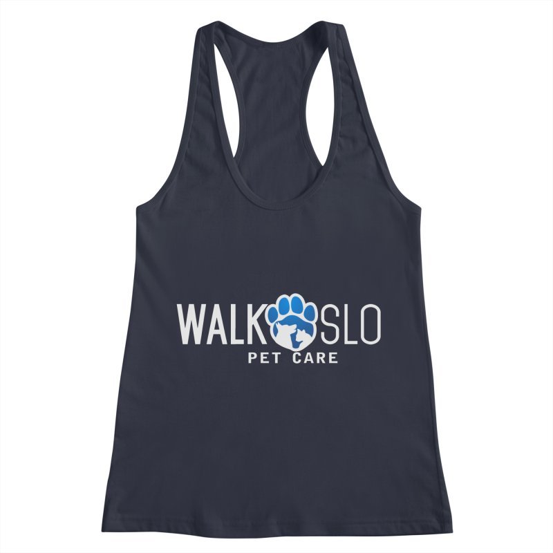 Walk SLO Women's Racerback Tank by ishCreatives's Artist Shop