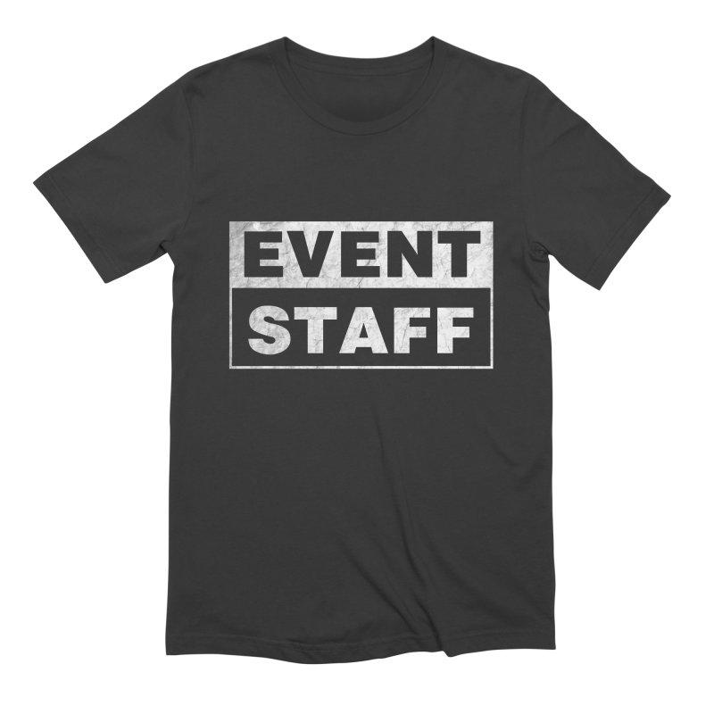 EVENT STAFF - Dark in Men's Extra Soft T-Shirt Smoke by ishCreatives's Artist Shop