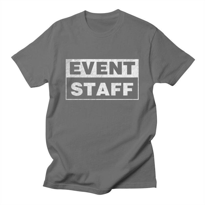 EVENT STAFF - Dark Men's T-Shirt by ishCreatives's Artist Shop