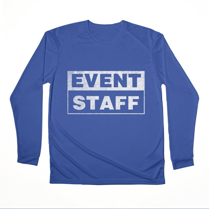 EVENT STAFF - Dark Men's Performance Longsleeve T-Shirt by ishCreatives's Artist Shop