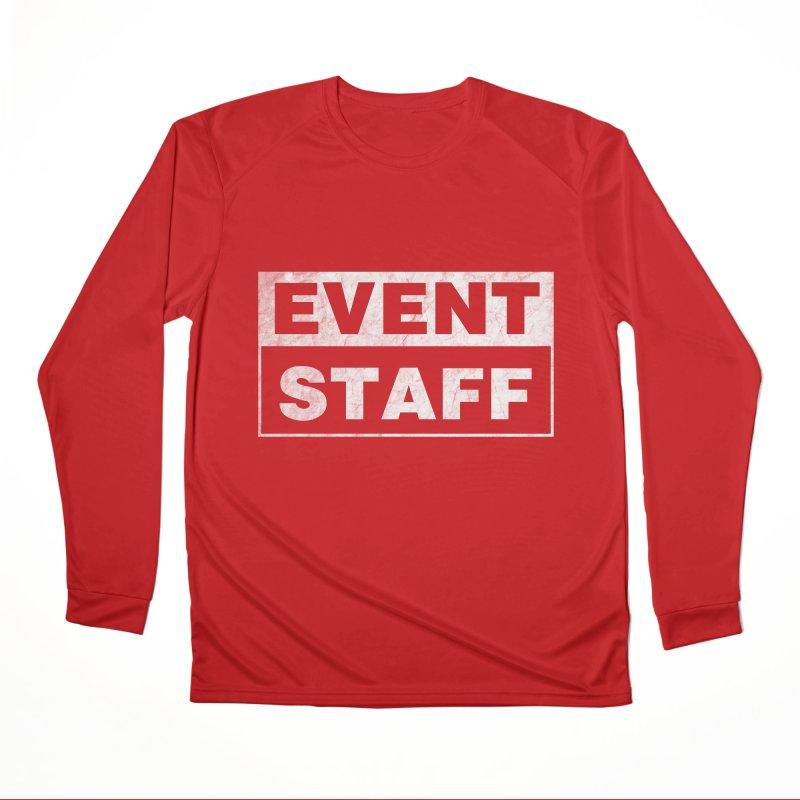 EVENT STAFF - Dark Men's Performance Longsleeve T-Shirt by ishCreatives's Artist Shop