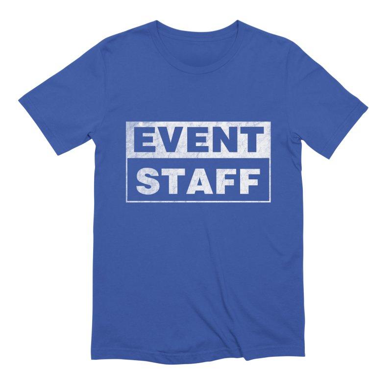 EVENT STAFF - Dark Men's Extra Soft T-Shirt by ishCreatives's Artist Shop
