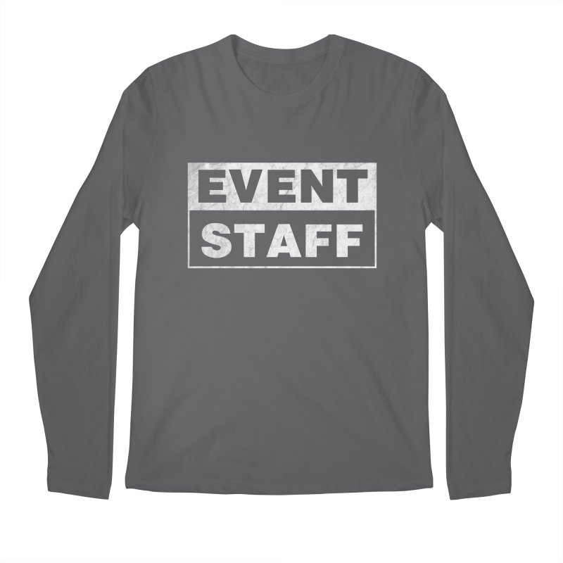 EVENT STAFF - Dark in Men's Regular Longsleeve T-Shirt Heavy Metal by ishCreatives's Artist Shop