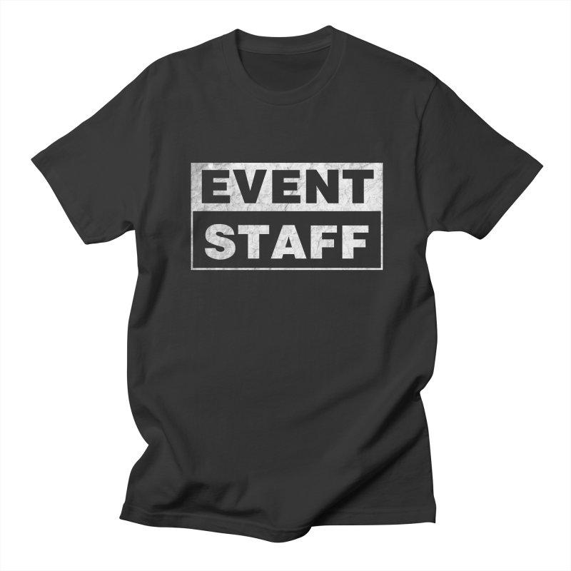 EVENT STAFF - Dark in Men's Regular T-Shirt Smoke by ishCreatives's Artist Shop