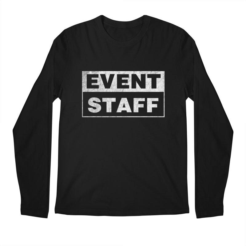 EVENT STAFF - Dark in Men's Regular Longsleeve T-Shirt Black by ishCreatives's Artist Shop