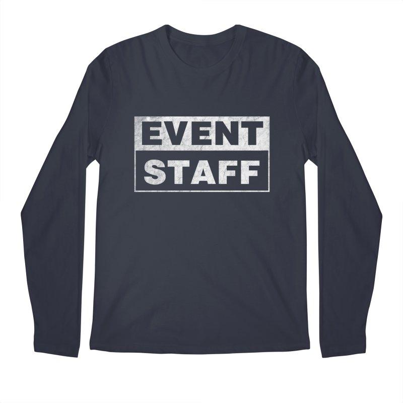EVENT STAFF - Dark Men's Regular Longsleeve T-Shirt by ishCreatives's Artist Shop