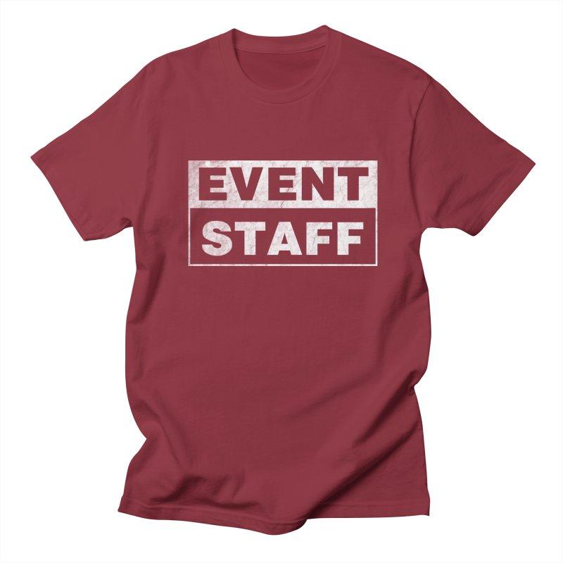 EVENT STAFF - Dark Men's Regular T-Shirt by ishCreatives's Artist Shop