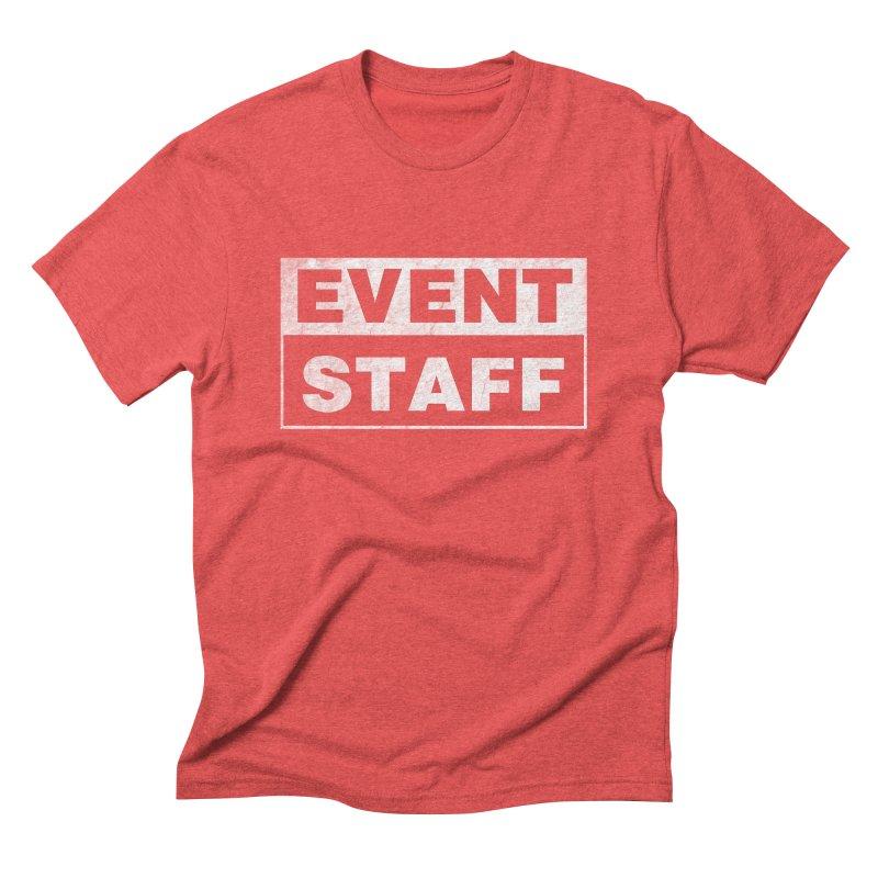 EVENT STAFF - Dark Men's Triblend T-Shirt by ishCreatives's Artist Shop