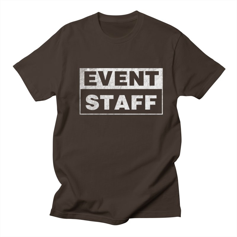 EVENT STAFF - Dark Men's Regular T-Shirt by ishCreatives's Artist Shop