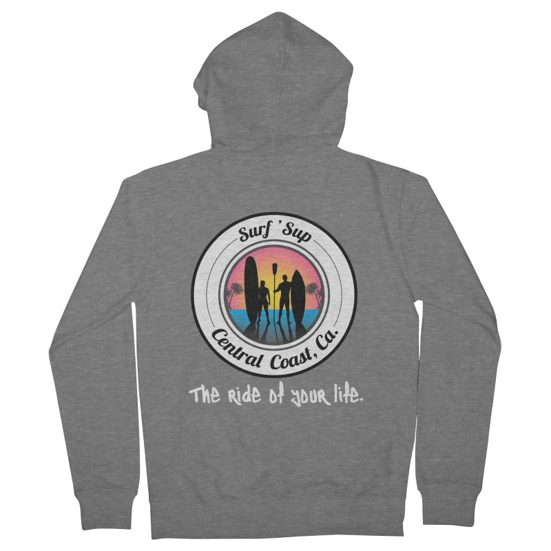 Surf 'SUP Central Coast - Zip Up Hoodies Women's Zip-Up Hoody by ishCreatives's Artist Shop