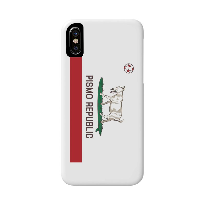 Pismo Republic Accessories Phone Case by ishCreatives's Artist Shop