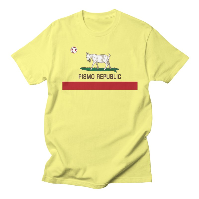 Pismo Republic Men's T-Shirt by ishCreatives's Artist Shop