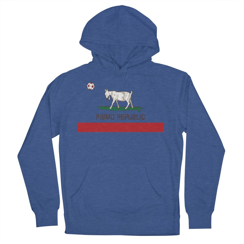 Pismo Republic Women's French Terry Pullover Hoody by ishCreatives's Artist Shop