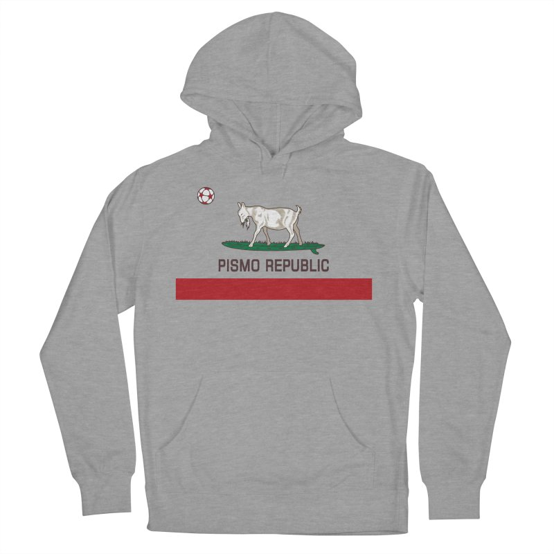 Pismo Republic Men's French Terry Pullover Hoody by ishCreatives's Artist Shop