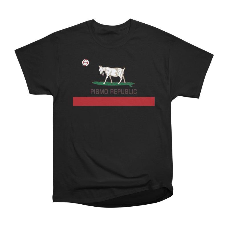 Pismo Republic Women's Heavyweight Unisex T-Shirt by ishCreatives's Artist Shop
