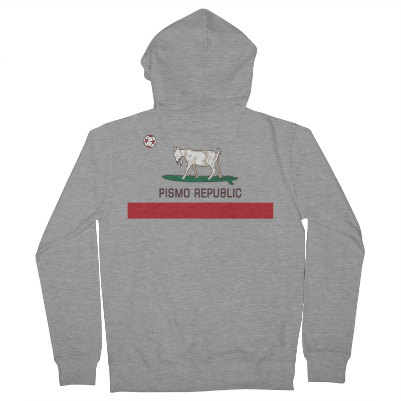 Pismo Republic Women's French Terry Zip-Up Hoody by ishCreatives's Artist Shop