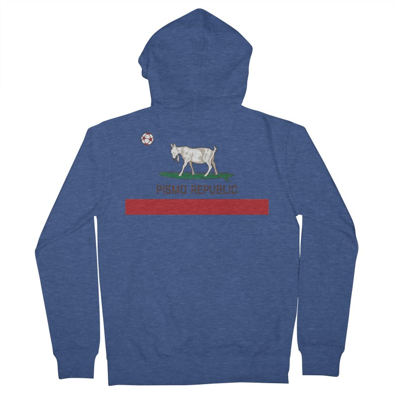 Pismo Republic Men's Zip-Up Hoody by ishCreatives's Artist Shop
