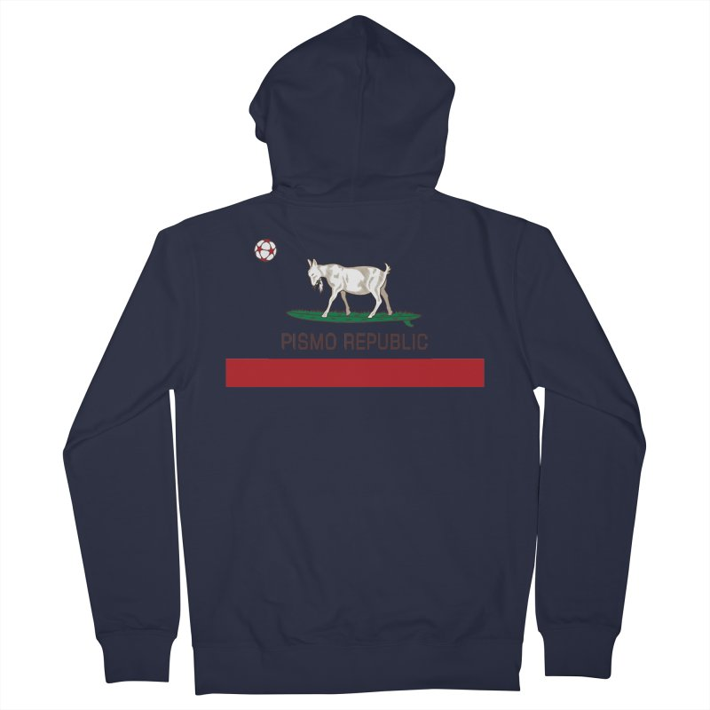 Pismo Republic Men's French Terry Zip-Up Hoody by ishCreatives's Artist Shop