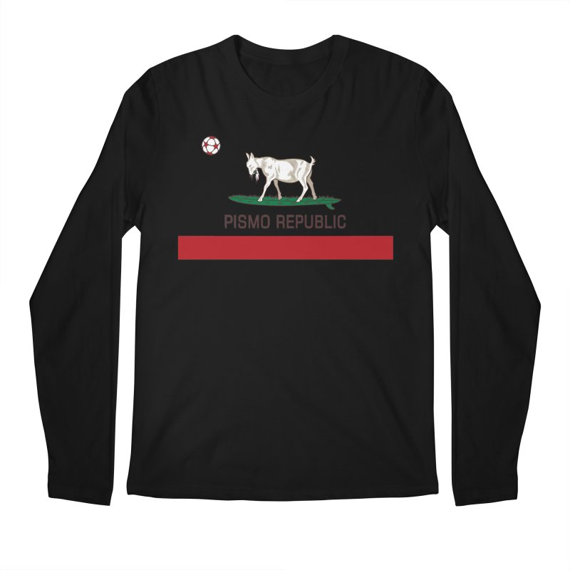 Pismo Republic Men's Regular Longsleeve T-Shirt by ishCreatives's Artist Shop