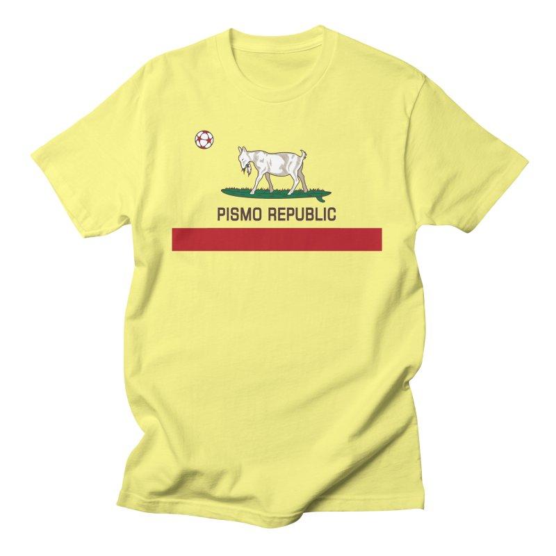 Pismo Republic Men's T-Shirt by ishCreatives's Artist Shop