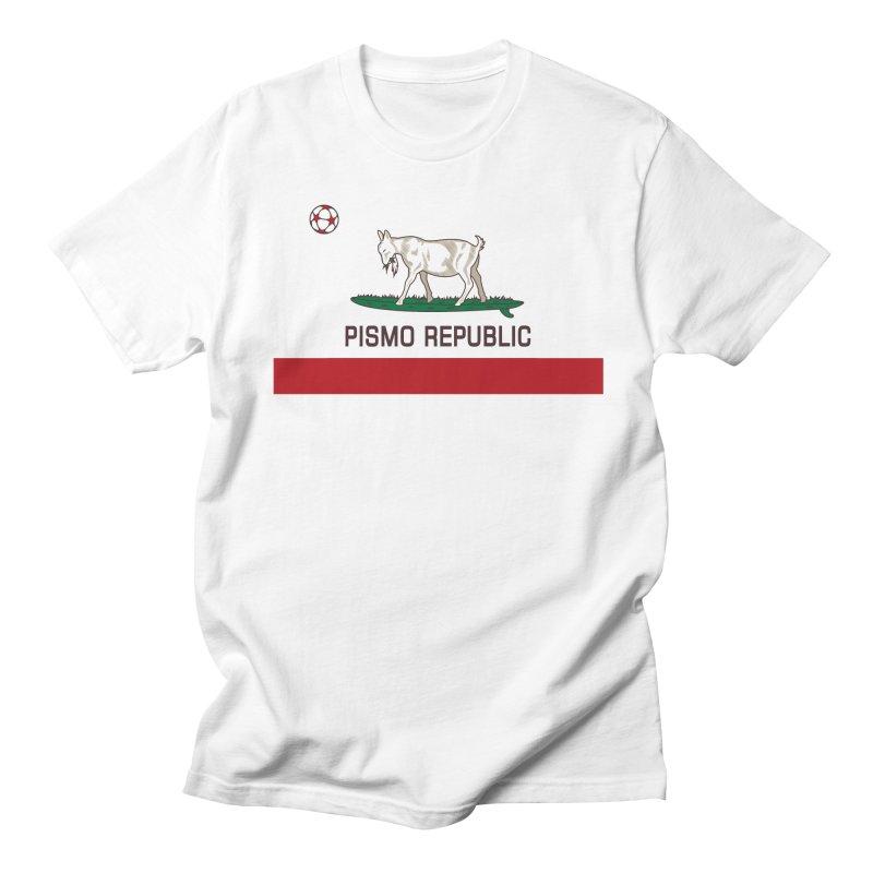 Pismo Republic Men's Regular T-Shirt by ishCreatives's Artist Shop