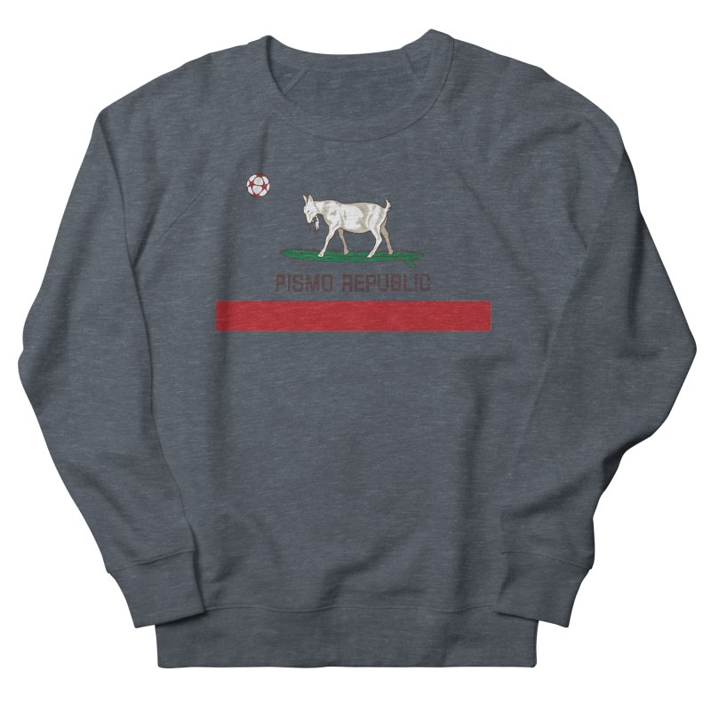 Pismo Republic Women's French Terry Sweatshirt by ishCreatives's Artist Shop