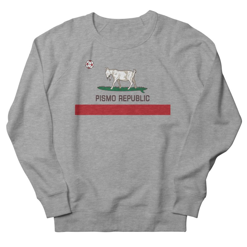 Pismo Republic Men's French Terry Sweatshirt by ishCreatives's Artist Shop