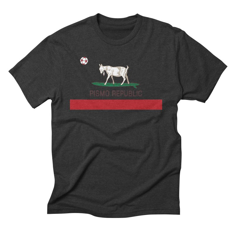 Pismo Republic Men's Triblend T-Shirt by ishCreatives's Artist Shop