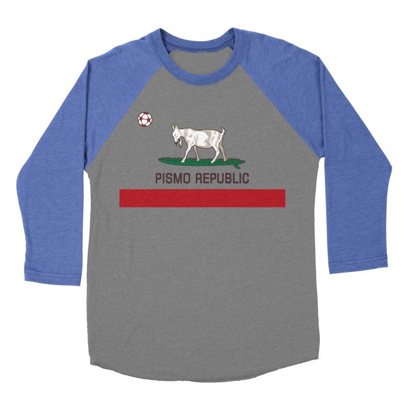 Pismo Republic Men's Baseball Triblend Longsleeve T-Shirt by ishCreatives's Artist Shop