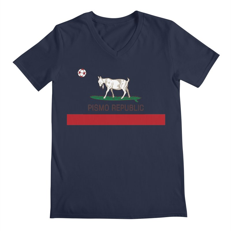 Pismo Republic Men's Regular V-Neck by ishCreatives's Artist Shop